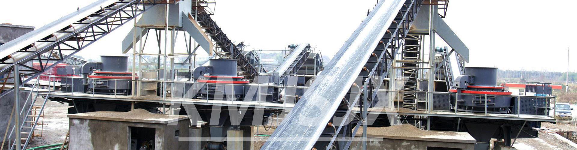 昆明坚石机械石料生产线