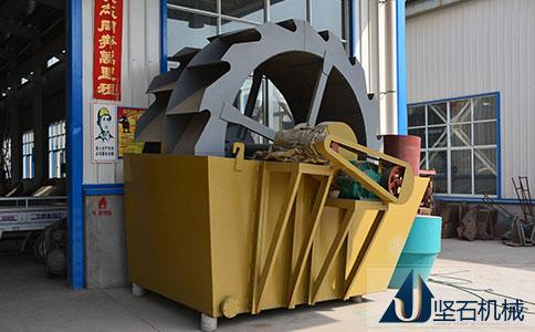 坚石洗砂机生产厂家