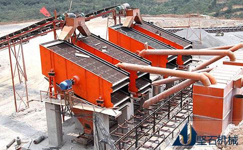 坚石机械石料生产线云南现场