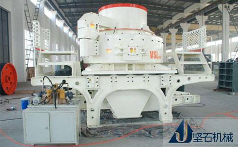 坚石机械制砂机生产车间