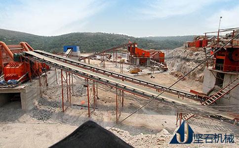 坚石机械石料生产线
