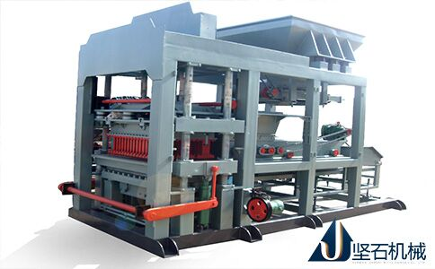 QMJ10-15全自动液压砌块砖机