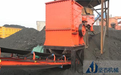 坚石机械箱式破碎机云南生产现场