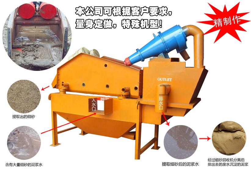 坚石机械专业生产细沙回收机厂家