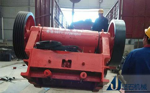 坚石机械石料生产线云南红河发货
