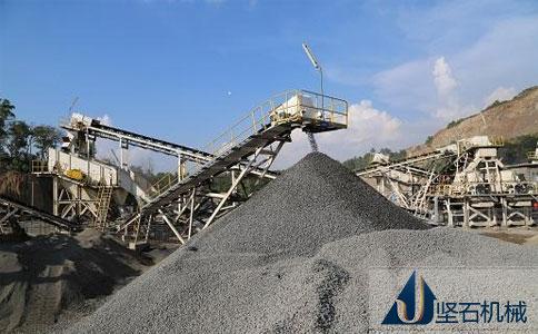 制砂生产线设备四川自贡现场